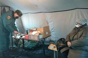 Для жителей Артема - теплая палатка и горячая еда