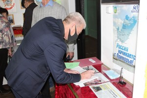 По приглашению ветеранов-угольщиков Александр Лось посетил музей истории шахты «Северная»