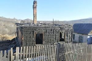 В первые десять дней года в округе произошло девять пожаров