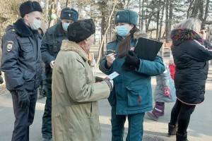 Сотрудники отдела проводят профилактические рейды совместно с полицейскими
