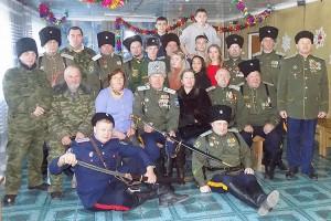 Участники казачьего круга в Углекаменске