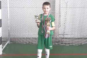 Юный футболист Павел Овчинников – лучший игрок края