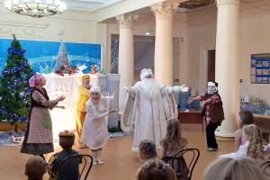 Кукольный спектакль зрителям понравился