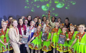 Образцовый ансамбль танца «Огоньки» с заслуженными наградами