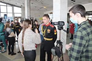 Берем интервью у коллег из Уссурийского суворовского военного училища