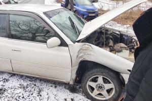 Причина аварии - несоблюдение дистанции
