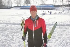 Любимый вид спорта Николая Дивойнова - лыжный
