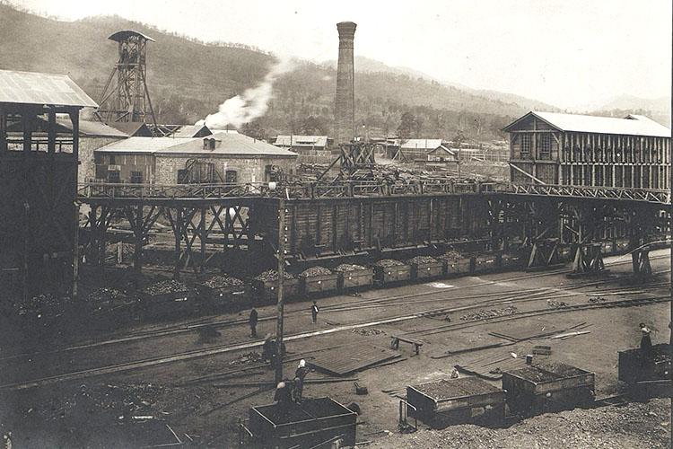 Сучанский рудник. 1912 год