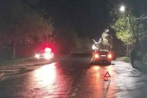 На улице Партизанской неизвестный водитель протаранил авто и скрылся