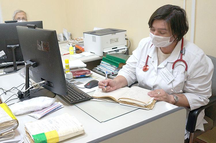 Информация о пациентах - и в карте, и в компьютере