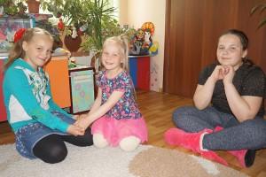 Дружные Надя, Вика и Танюшка