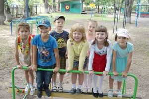 Своя спортивная площадка теперь есть у ребят из детсада №24 на Пушкинской