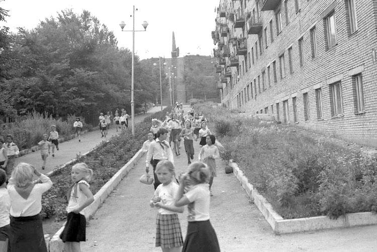 В мирное время Партизанская сопка стала местом митингов и экскурсий