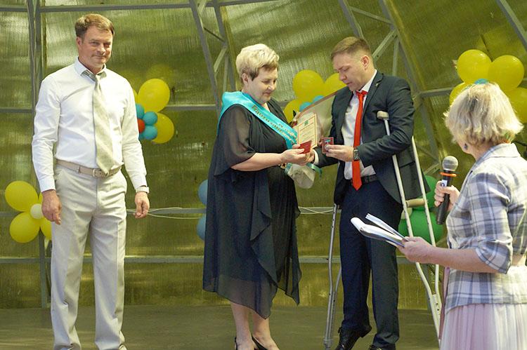 Новым Почетным жителем города стала Светлана Косенко