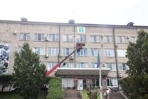 Герб Партизанска размещен на новом месте