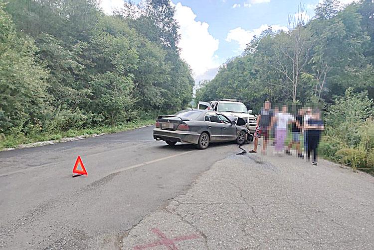 ДТП в селе Хмельницкое