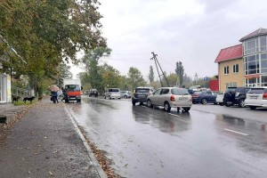 ДТП на улице Замараева